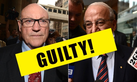 Ian Macdonald and Eddie Obeid