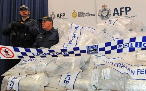 "Authorities concede, drug seizures are just ""the tip of the iceberg"""