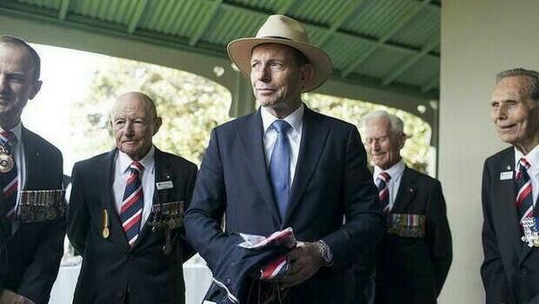 Tony Abbott: All hat and no cattle