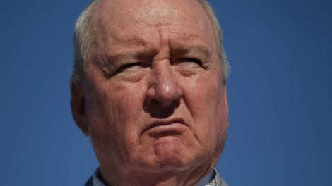 Not a happy camper. Alan Jones Livid over Broken Promise