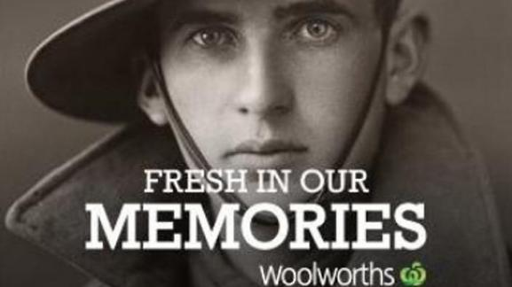 WOOLWORTHS ANZAC COMMEMORATION WEBSITE